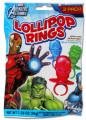 30]Marvel Avengers 3Pk. Lollipop Rings
