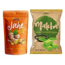 Jans Ginger & Matcha Candies