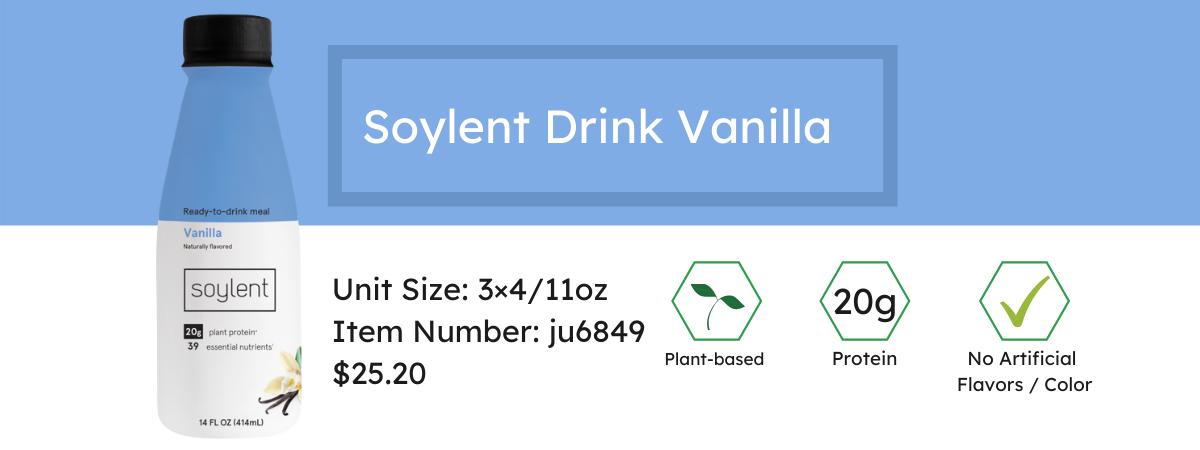 Soylent Drink Vanilla