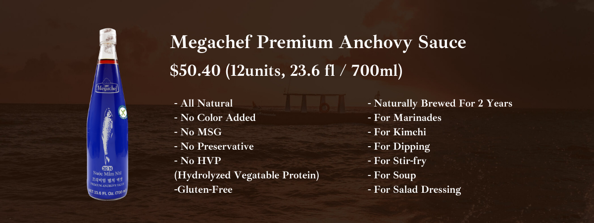 megachef fish sauce